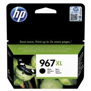 HP oryginalny ink 3JA31AE#301, HP 967, black, blistr, 3000s, 68.7ml, extra high capacity, HP Officejet Pro 9010, 9012, 9014, 9015, 3JA31AE#301