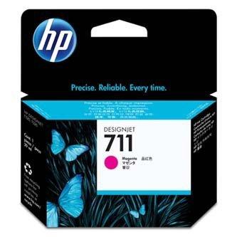 HP oryginalny wkład atramentowy / tusz CZ131A. No.711. magenta. 29ml. HP Designjet T120, T125, T130, T520, T525, T530 CZ131A
