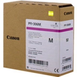 Canon oryginalny wkład atramentowy / tusz PFI306M. magenta. 330ml. 6659BB001. ploter iPF-8300 6659B001