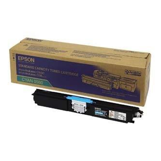 Epson oryginalny toner C13S050560. cyan. 1600s. return. Epson AcuLaser C1600. CX16 C13S050560