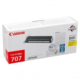 Canon oryginalny toner CRG707. yellow. 2000s. 9421A004. Canon LBP-5000 9421A004