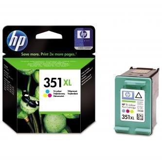 HP oryginalny wkład atramentowy / tusz CB338EE. No.351XL. color. 14ml. HP Officejet J5780. J5785 CB338EE