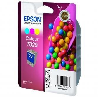 Epson oryginalny wkład atramentowy / tusz C13T029401. color. 300s. 37ml. Epson Stylus Color C60 C13T02940110