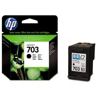 HP oryginalny wkład atramentowy / tusz CD887AE. No.703. black. HP Deskjet CD887AE