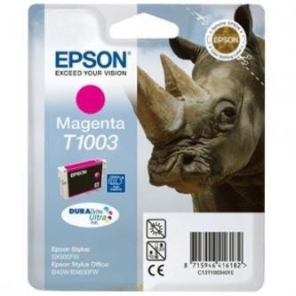 Epson oryginalny wkład atramentowy / tusz C13T10034010. magenta. 11.1ml. Epson Stylus Office B40W. BX600FW