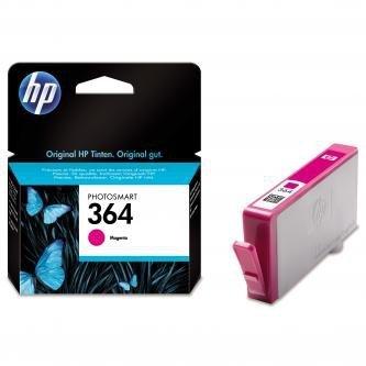 HP oryginalny wkład atramentowy / tusz CB319EE. No.364. magenta. 300s. HP Photosmart B8550. C5380. D5460 CB319EE
