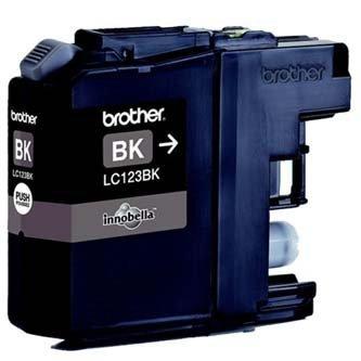 Brother oryginalny wkład atramentowy / tusz LC-123BK. black. 600s. Brother MFC-J4510 DW
