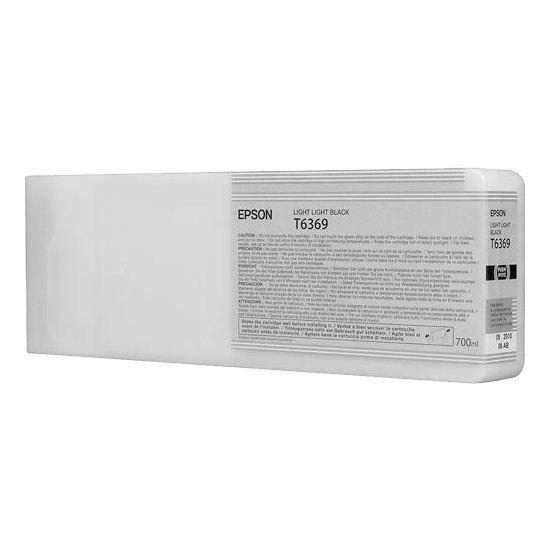 Epson oryginalny wkład atramentowy / tusz C13T636900. light light black. 700ml. Epson Stylus Pro 7900. 9900 C13T636900