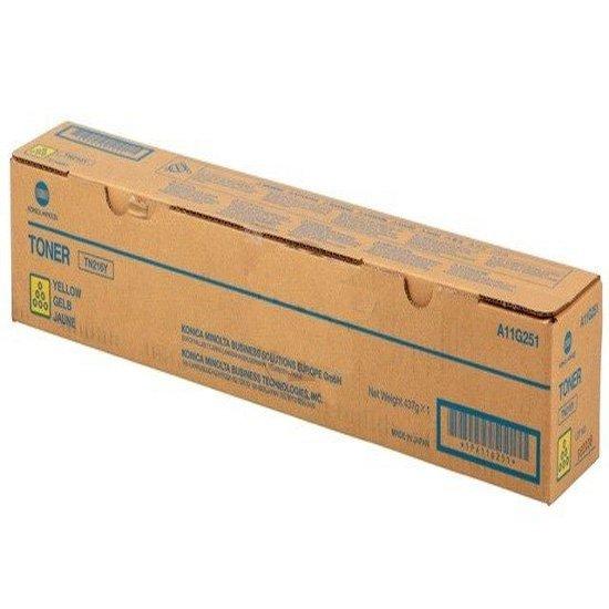 Konica Minolta oryginalny toner TN216Y. yellow. 26000s. A11G251. Konica Minolta Bizhub C220 A11G251