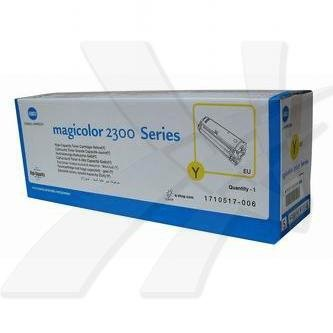 Konica Minolta oryginalny toner 4576311. yellow. 4500s. 1710-5170-06. Konica Minolta Magic Color 2300DL 4576311