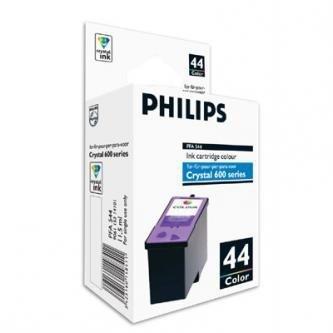 Philips oryginalny wkład atramentowy / tusz PFA 544. color. 500s. 11.5ml. typ 44. Philips 650. 660. 665 PFA 544
