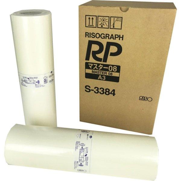 Riso oryginalny matryca S-3384. Riso RP 3790/00. HD. A3. cena za 1 sztukę S-3384