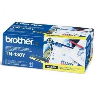 Brother oryginalny toner TN130Y. yellow. 1500s. Brother HL-4040CN. 4050CDN. DCP-9040CN. 9045CDN. MFC-9440C TN130Y