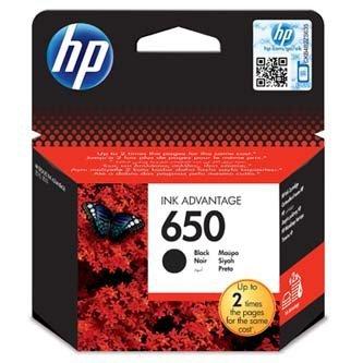HP oryginalny wkład atramentowy / tusz CZ101AE#BHK. No.650. black. 360s. 6.5ml. HP Deskjet tusz Advantage 2515 AiO. 3515 e-Ai0 CZ101AE#BHK