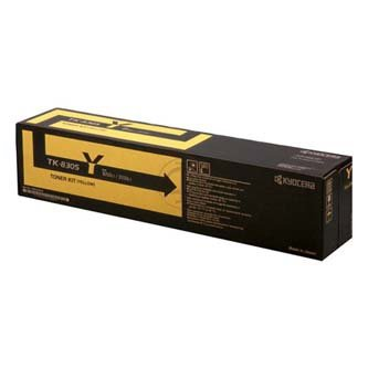 Kyocera Mita oryginalny toner TK8305Y. yellow. 15000s. 1T02LCANL0. Kyocera Mita 3050Ci/3550Ci 1T02LKANL0