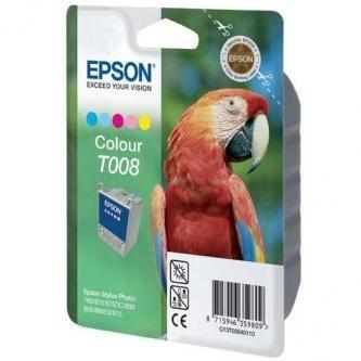 Epson oryginalny wkład atramentowy / tusz C13T008401. color. 220s. 46ml. Epson Stylus Photo 870. 875DC. 890. 895. 780. 790
