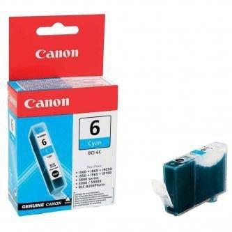 Canon oryginalny wkład atramentowy / tusz BCI6C. cyan. 4706A002. Canon S800. 820. 820D. 830D. 900. 9000. i950 4706A002