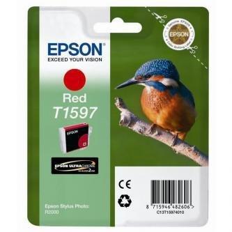 Epson oryginalny wkład atramentowy / tusz C13T15974010. red. 17ml. Epson Stylus Photo R2000 C13T15974010