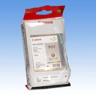 Canon oryginalny wkład atramentowy / tusz PFI101 PGrey. photo grey. 130ml. 0893B001. ploter iPF-5000
