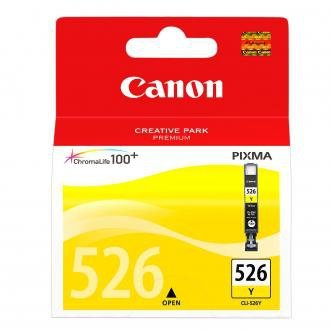 Canon oryginalny wkład atramentowy / tusz CLI526Y. yellow. 9ml. 4543B001. Canon Pixma  MG5150. MG5250. MG6150. MG8150 4543B001