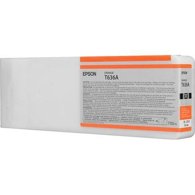 Epson oryginalny wkład atramentowy / tusz C13T636A00. orange. 700ml. Epson Stylus Pro 7900. 9900