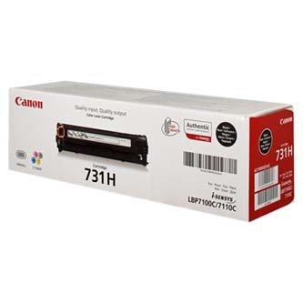 Canon oryginalny toner CRG731H. black. 2400s. 6273B002. Canon LBP-7100Cn. 7110Cw. MF 8280Cw. high capacity 6273B002