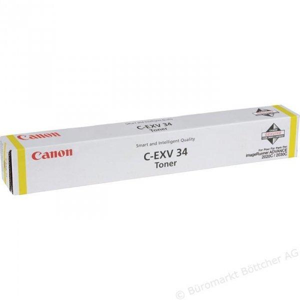 Canon oryginalny toner CEXV34. yellow. 19000s. 3785B002. Canon iR-C2020. 2030 3785B002