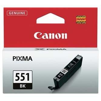 Canon oryginalny wkład atramentowy / tusz CLI551BK. black. 7ml. 6508B001. Canon PIXMA iP7250. MG5450. MG6350 6508B001