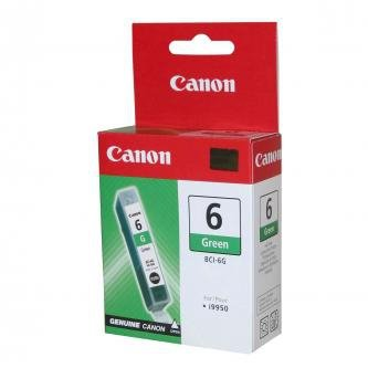 Canon oryginalny wkład atramentowy / tusz BCI6G. green. 9473A002. Canon i9950. i950