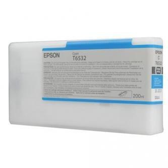 Epson oryginalny wkład atramentowy / tusz C13T653200. cyan. 200ml. Epson Stylus Pro 4900 C13T653200