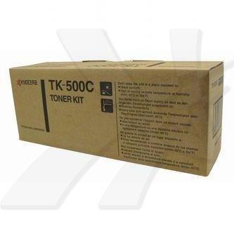 Kyocera Mita oryginalny toner TK500C. cyan. 8000s. Kyocera Mita FS-C5016N 370PD5KW