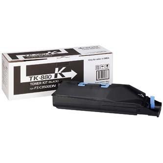 Kyocera Mita oryginalny toner TK880K. black. 25000s. 1T02KA0NL0. Kyocera Mita FS C8500DN 1T02KA0NL0