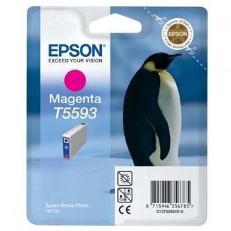 Epson oryginalny wkład atramentowy / tusz C13T55934010. magenta. 13ml. Epson Stylus Photo RX700 C13T55934010