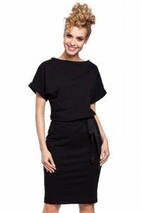 M284 Sukienka czarna