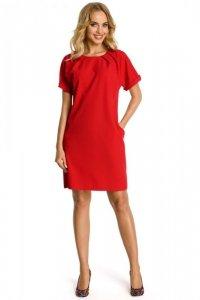 M337 sukienka czerwona