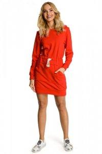 M352 Sukienka czerwona
