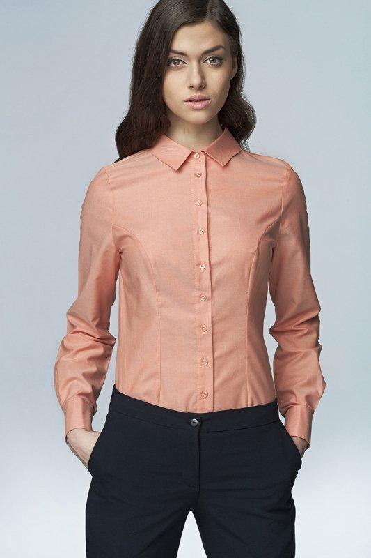 Koszula - łosoś - K43