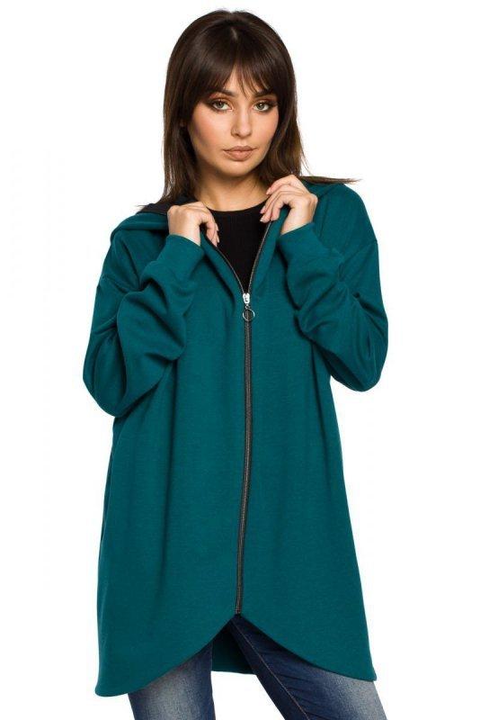 B054 bluza zielona