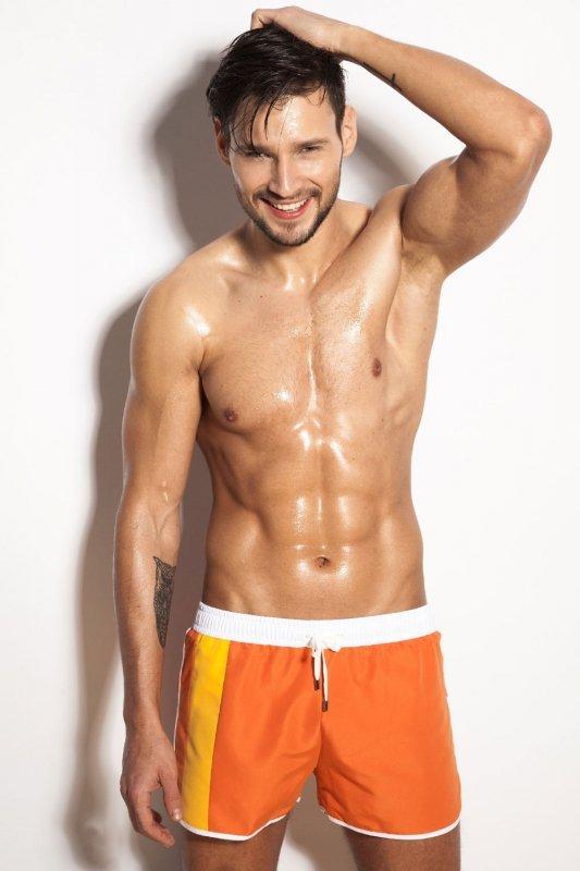 Kostium kąpielowy Alpha Male Curso orange