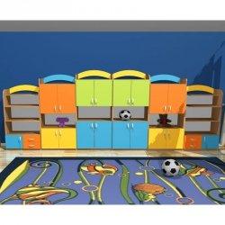 Zestaw szafek przedszkolnych nr 17