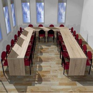 Stół konferencyjny do pokoju nauczycielskiego nr 2