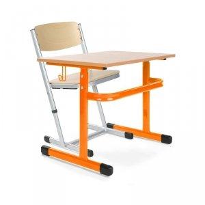 Stół szkolny Adam wielorozmiarowy 1-osobowy