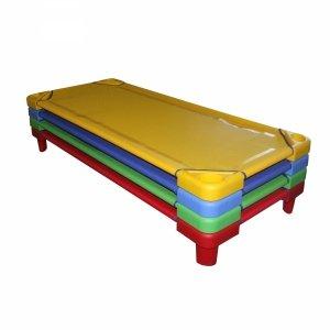 Leżak przedszkolny czerwony