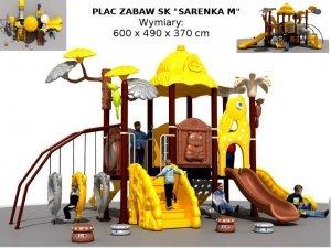 Plac zabaw przedszkolny nr 12