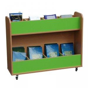 Biblioteczka mobilna z przegrodami Primo 225
