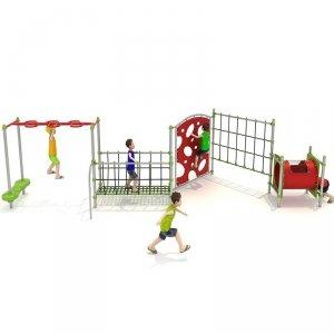 Plac zabaw, zestaw sprawnościowy 1