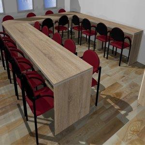 Stół konferencyjny do pokoju nauczycielskiego 1