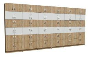 Zestaw szafek do pokoju nauczycielskiego nr 9
