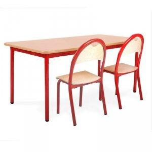 Stół przedszkolny, Bambino z regulacją wysokości