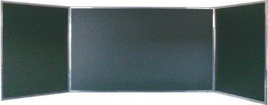Tablica TRYPTYK zielona ceramiczna 3400x1000